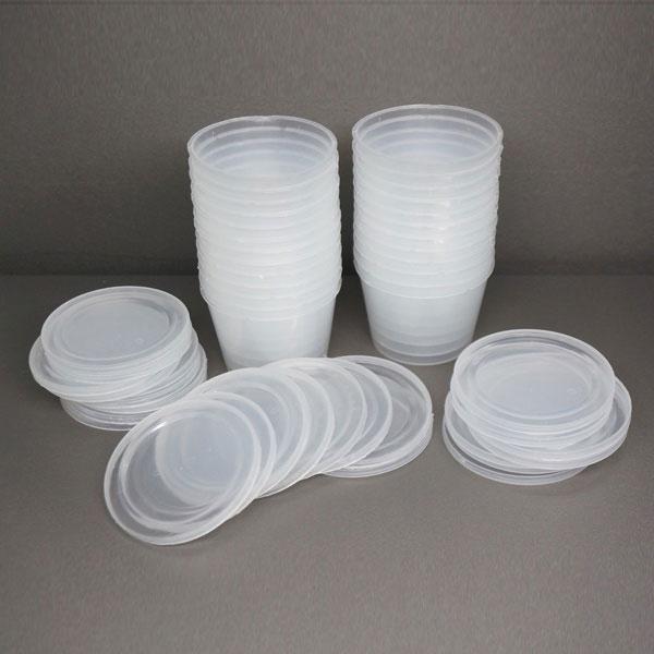 tô nhựa đựng cháo dinh dưỡng