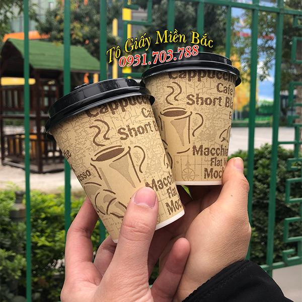 cốc giấy đựng cà phê