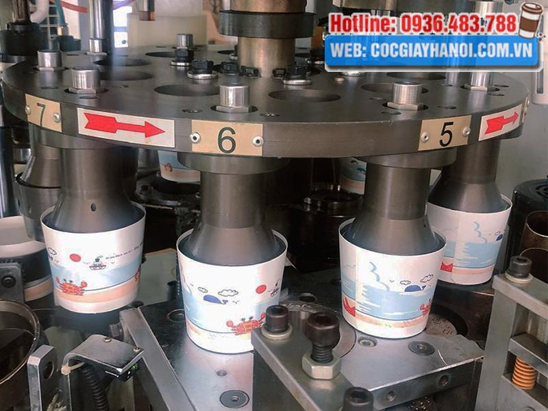 Quy trình in tô giấy công ty Phú Nguyên