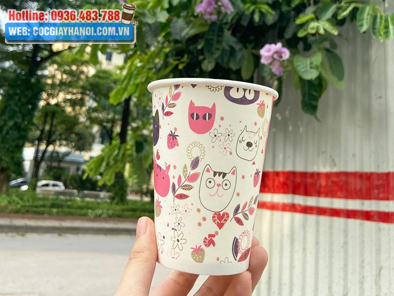 Ly giấy chuyên đựng đồ uống lạnh