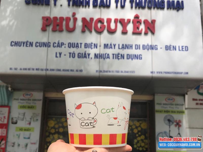 Cốc giấy công ty Phú Nguyên
